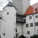 Замок. Вид изнутри