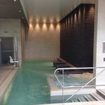 The spa!