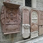 Old churchyard plaques