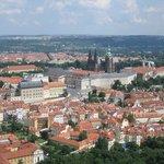 Вид с Петршинской башни, Прага