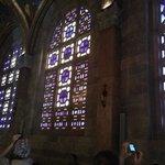 Мозаичные окна в церкви Всех наций