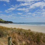 From boardwalk at Mount Maunganui