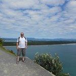 Matakana Island is backdrop to track