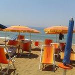 spiaggia convezionata