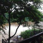 Bungalow mit Flusssicht