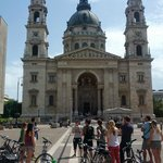 Bike tour around Budapest