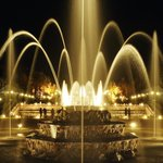 Fountains night show if Versailles Palace