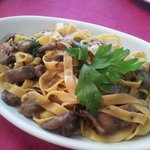 tagliatelle with mushrooms