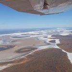 Lake Amadeus - Ayers Rock Scenic Flights.