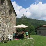 Outside Casa Turchetti