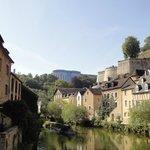 Luxemburg Grund met op achtergrond Sofitel