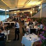 sala del ristorante la Caletta Porto Azzurro