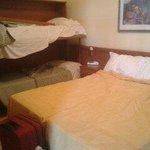 abbiamo fatto ottime dormite a parte un letto che cigolava