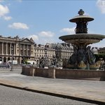In this picture you can see one of the ornate fountains which are within Place de la Concorde, t