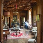 The lounge area at the Chateau