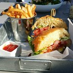 BLT+E Burger