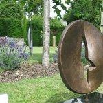 the Sculptured Garden