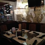 Part of the dinning area