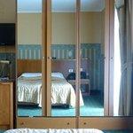 Bedroom (poor TV location)