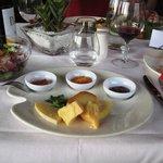 cena secondo piatto formaggi con mostarde