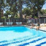 Swimming pool at the HSM Reina Isabel