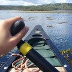 Canoeing in Loch Moidart