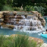 The lazy river is beautiful!