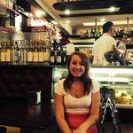 Chloe and the bar