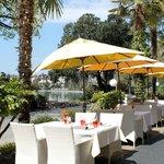 Café Bellagio's terrace