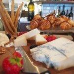 Italian style breakfast