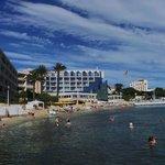 L'hotel sulla spiaggia