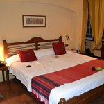 The room we stayed in (a lead in room I think) - triple share set up with 1 x queen & 1 x rollaw