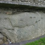 Megalithic rock art at Knowth