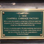 Campbell Carriage Factory history