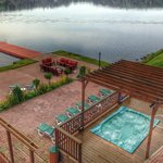 Dock and Hot Tub