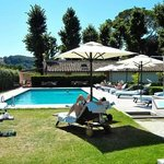 Villa Olmi Pool Area