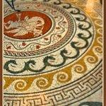 mosaic floor,Villa Kérylos