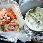 Jumbo Lobster Roll and Chowda