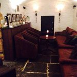 Lots of little cosy seating areas in the cellar bar area!