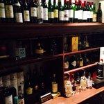 More wine, make sure you explore the cellar/bar area!