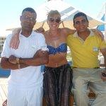 Makram, Samuel and I