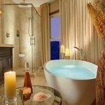 One Bedroom Spa Suite Bathroom