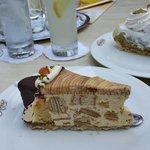 Baumkuchen and Stachelbeer Torte