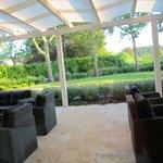 terrazza dal lato ristorante