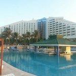 swim up bar in main pool