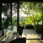 ristorante Hotel vista sulla piscina