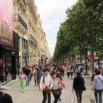 The famed street itself