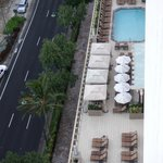 View of pool area - cabanas for rent