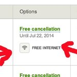 This led me to believe there was free wifi.... but no!