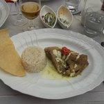 Eendenbouten met groene curry